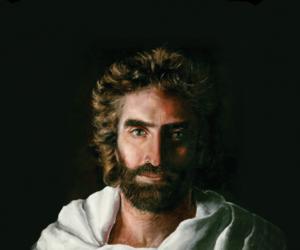 niña que pinto a jesus