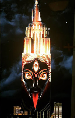 diosa kali lengua fuera